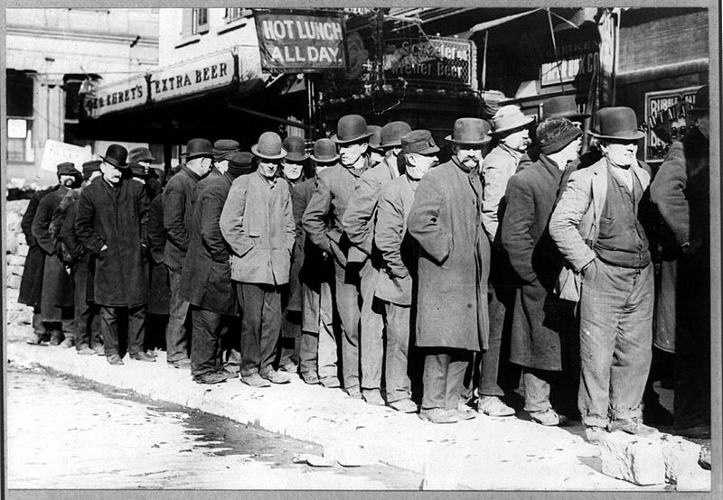 nice Soup Lines During The Great Depression Part - 13: The Great Depression By:Jonathan goh